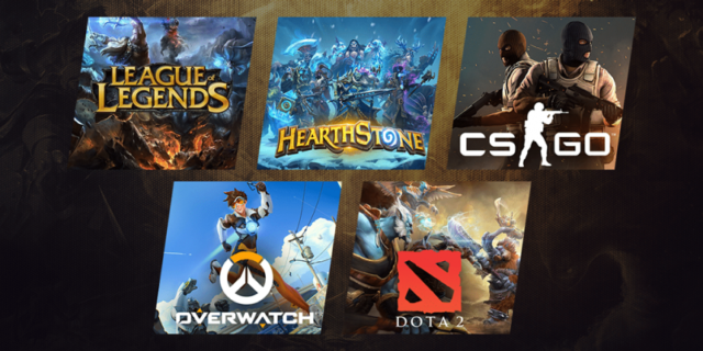 Most Popular Esports Games in 2021